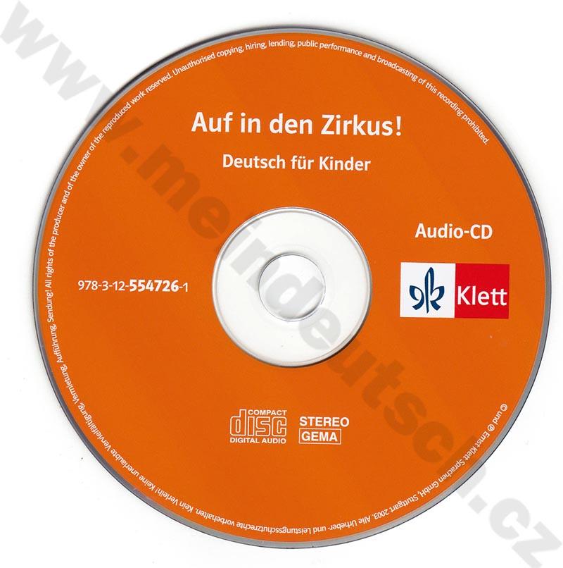 Auf in den Zirkus - audio-CD k učebnici