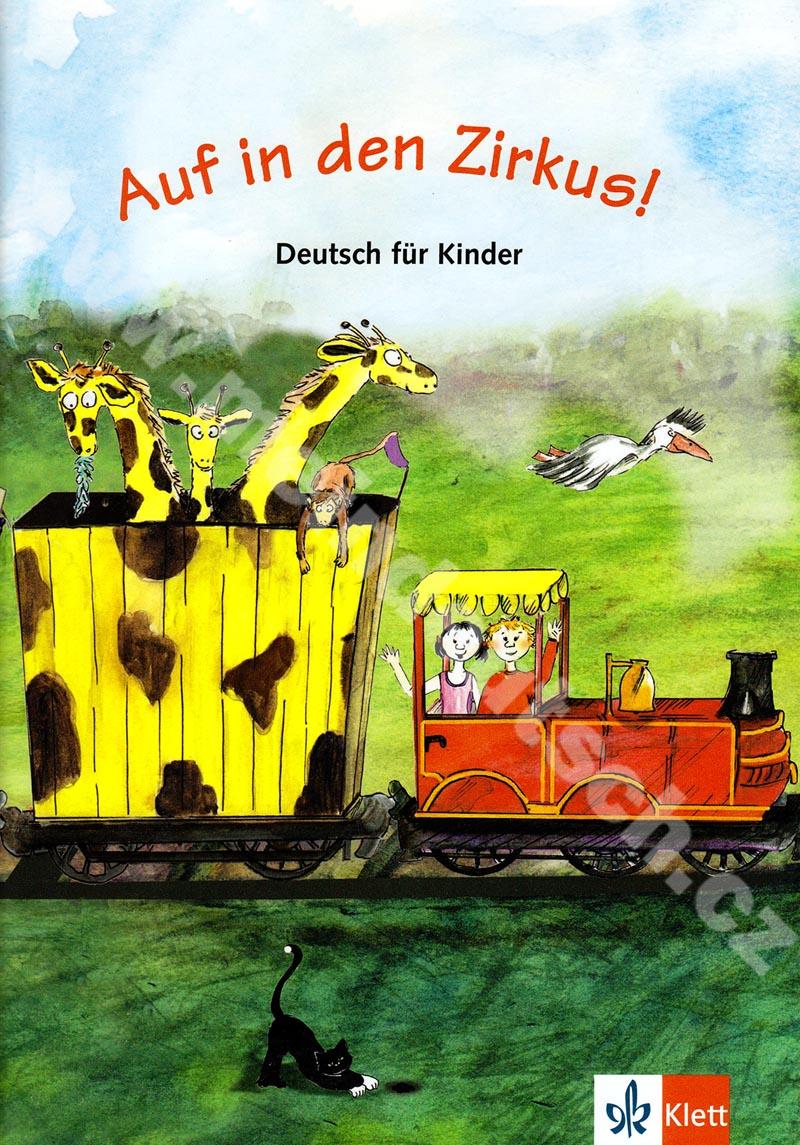 Auf in den Zirkus - učebnice němčiny pro děti