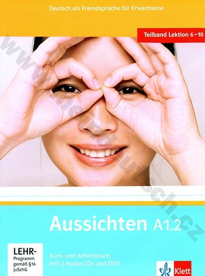 Aussichten A1.2 - německá učebnice s pracovním sešitem + 2 a 1 DVD