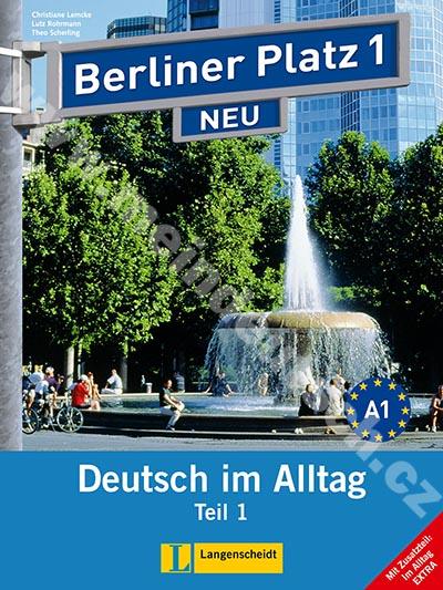 Berliner Platz 1/1 NEU - 1. polovina učebnice s PS + Im Alltag EXTRA