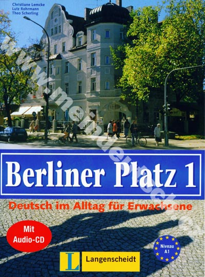 Berliner Platz 1 - 1. díl učebnice němčiny s pracovním sešitem