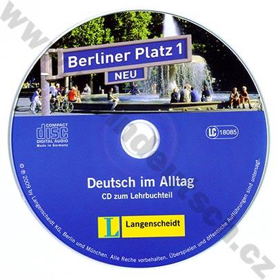 Berliner Platz 1 NEU - 2 audio-CD k 1. dílu učebnice