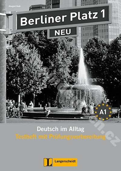 Berliner Platz 1 NEU - sešit testů k 1. dílu vč. audio-CD