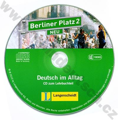 Berliner Platz 2 NEU - 2 audio-CD k 2. dílu učebnice