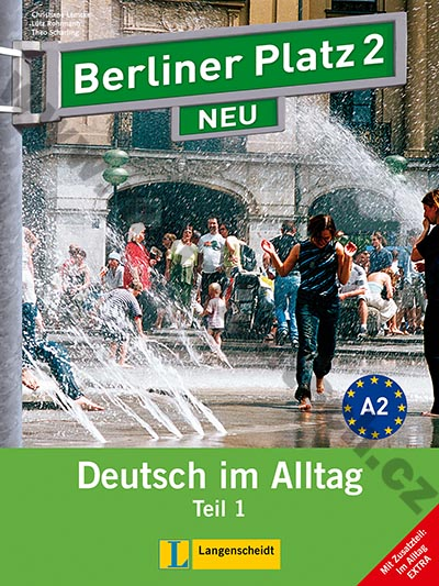 Berliner Platz 2/1 NEU - 1. polovina učebnice s PS + Im Alltag EXTRA