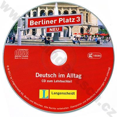 Berliner Platz 3 NEU - 2 audio-CD k 3. dílu učebnice