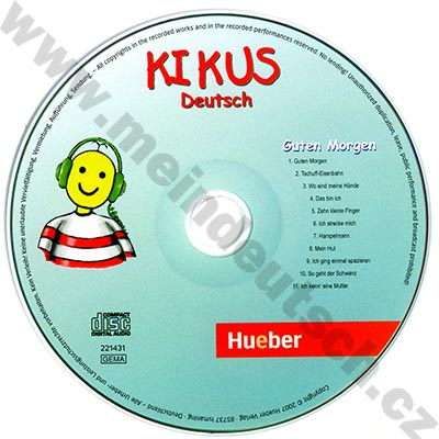 Kikus Guten Morgen! - audio CD