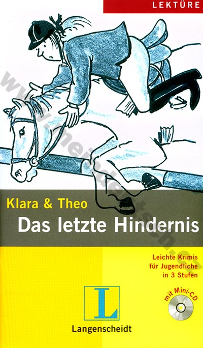 Das letzte Hindernis - lehká četba v němčině #2 vč. mini-audio-CD
