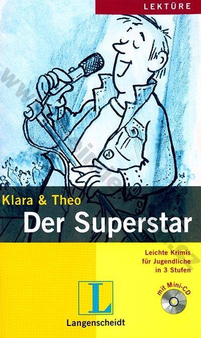 Der Superstar - lehká četba v němčině náročnosti # 1 vč. mini-audio-CD