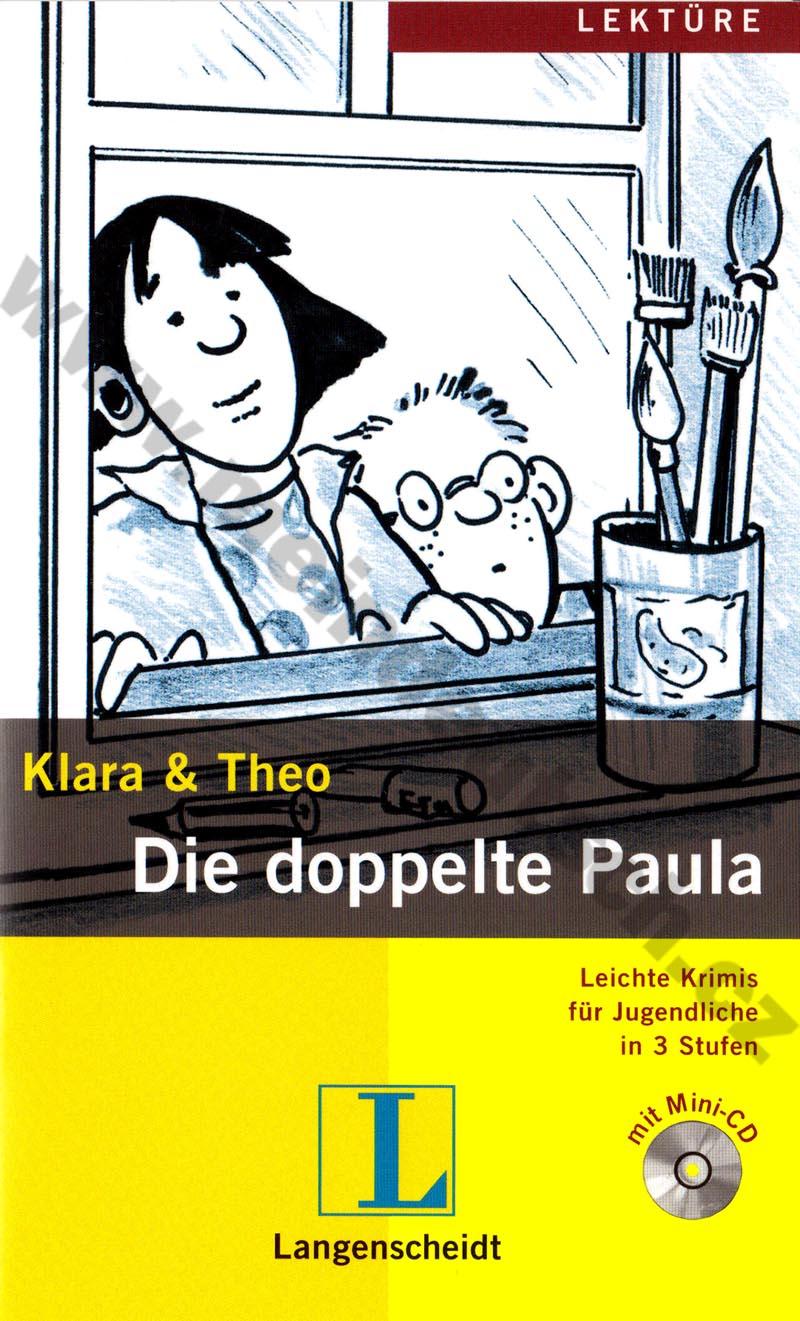 Die doppelte Paula - lehká četba v němčině #3 vč. mini-audio-CD