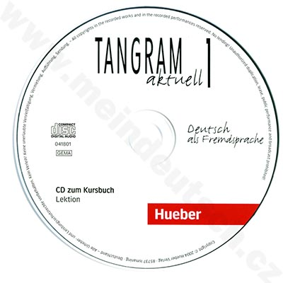 Tangram aktuell 1 (lekce 1-4) - audio-CD k učebnici