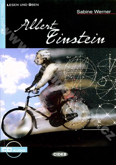 Albert Einstein - zjednodušená četba A2 v němčině (edice CIDEB) vč. CD