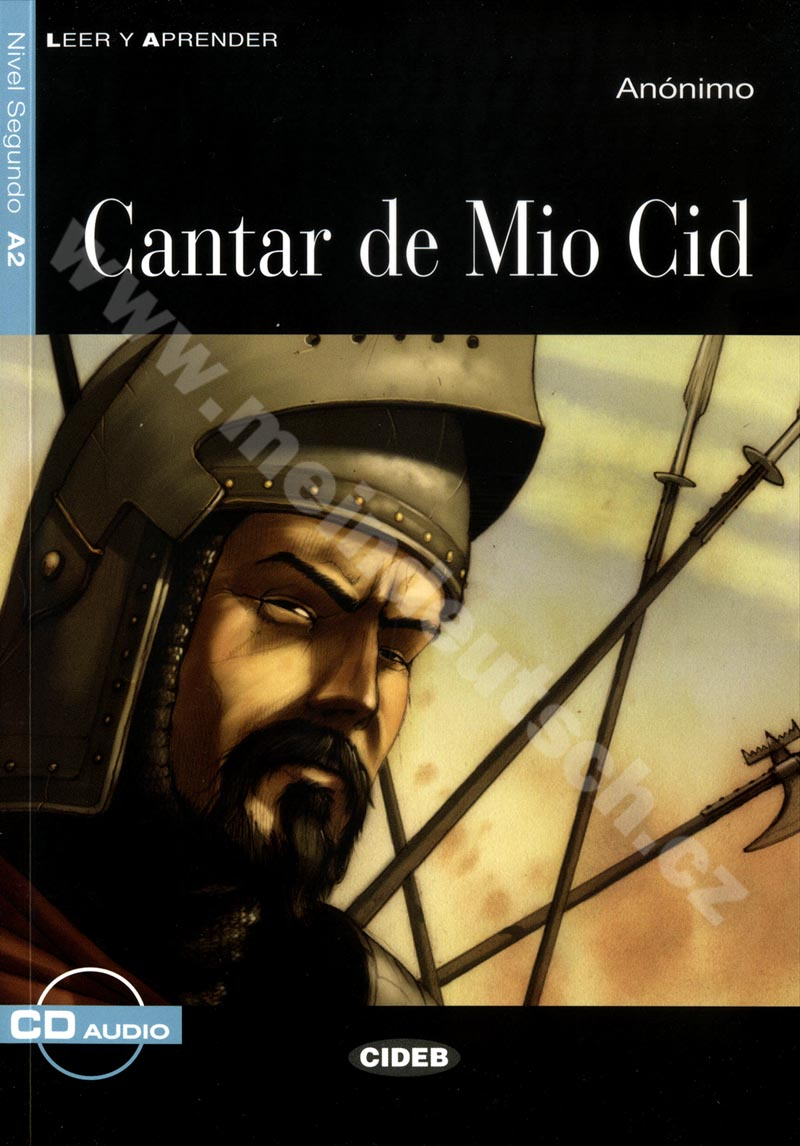 Cantar de Mio Cid - zjednodušená četba A2 ve španělštině + CD