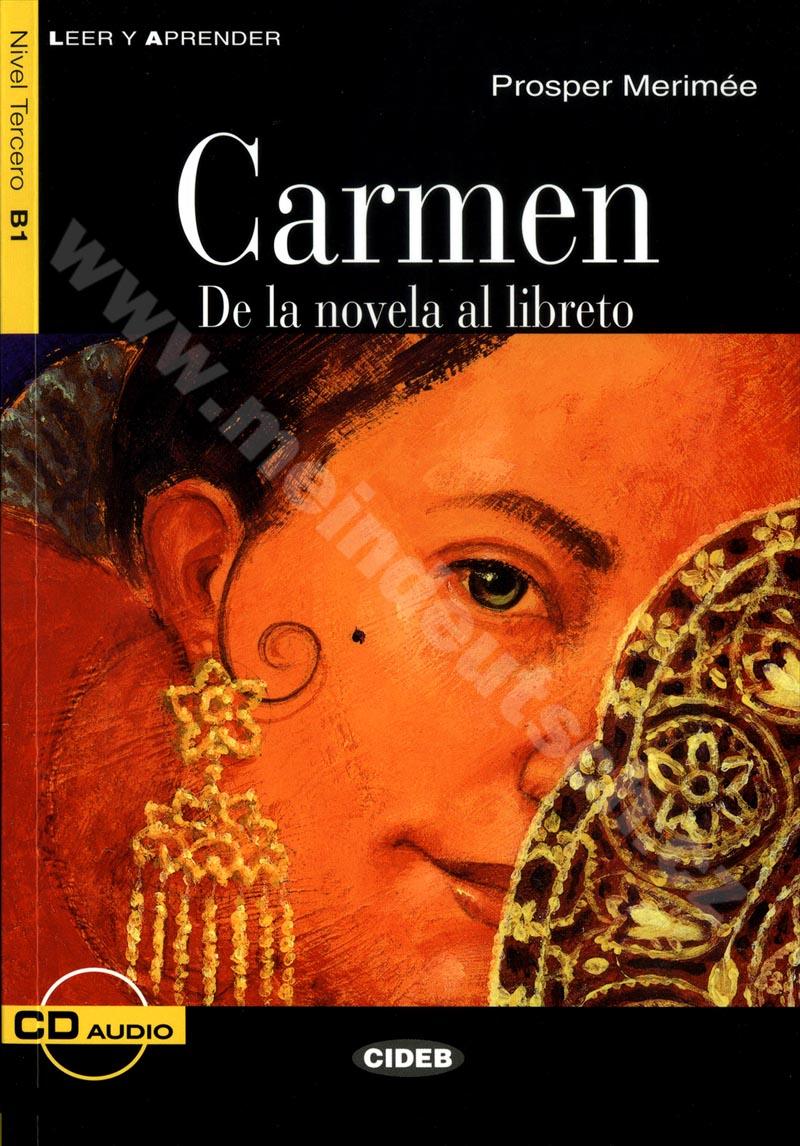 Carmen - zjednodušená četba B1 ve španělštině (edice CIDEB) vč. CD