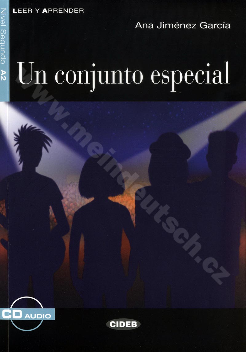 Un conjunto especial - zjednodušená četba A2 ve španělštině vč. CD