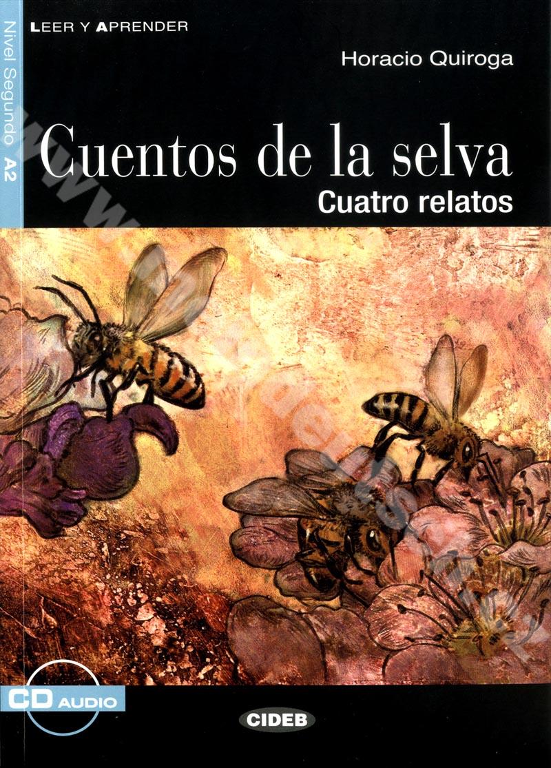 Cuentos de la selva - zjednodušená četba A2 ve španělštině vč. CD