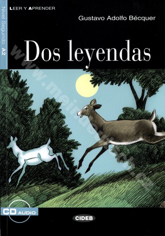 Dos leyendas - zjednodušená četba A2 ve španělštině vč. CD