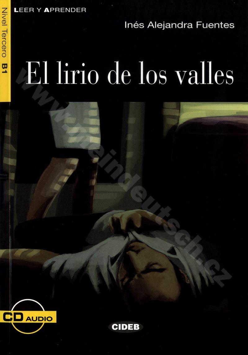 El lirio de los valles - zjednodušená četba B1 ve španělštině vč. CD