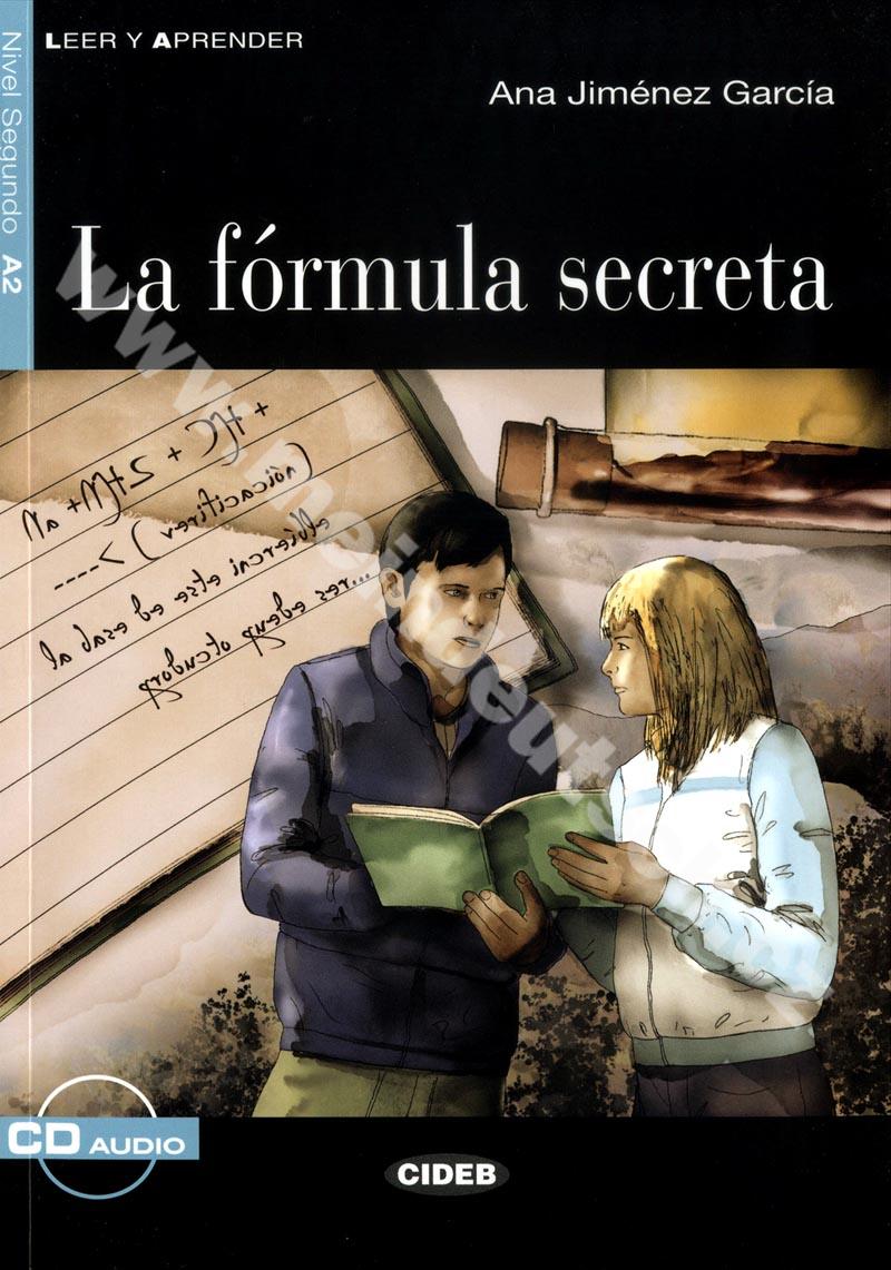 La fórmula secreta - zjednodušená četba A2 ve španělštině + CD