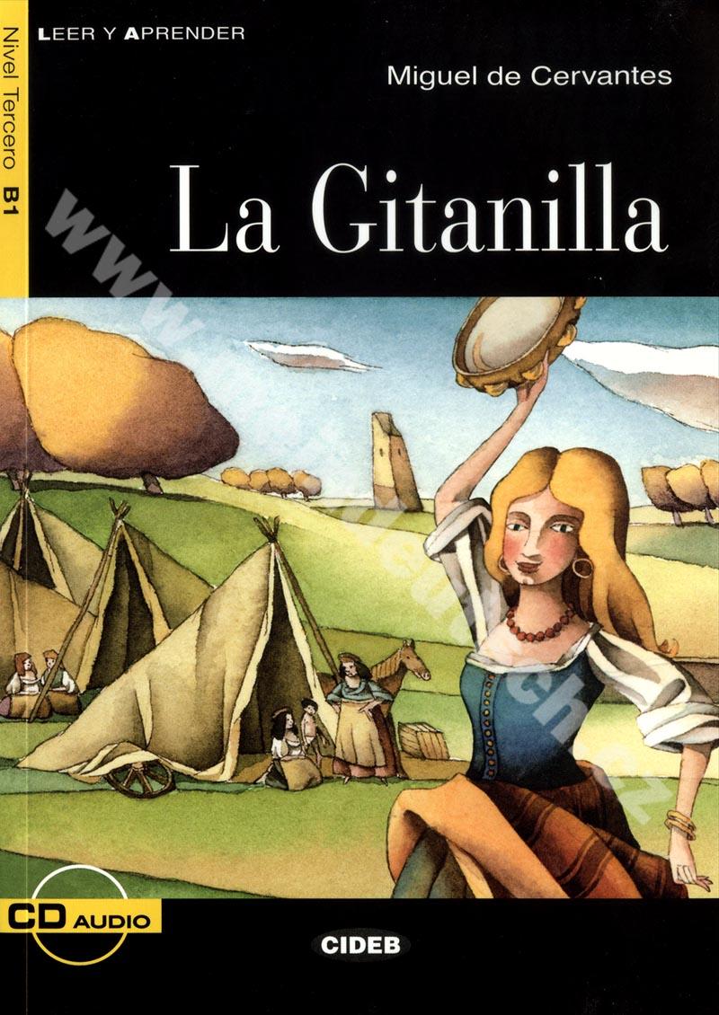 La Gitanilla - zjednodušená četba B1 ve španělštině vč. CD