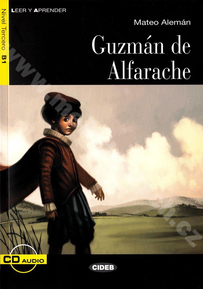 Guzmán de Alfarache - zjednodušená četba B1 ve španělštině vč. CD