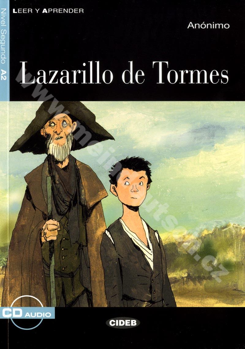 Lazarillo de Tormes - zjednodušená četba A2 ve španělštině vč. CD