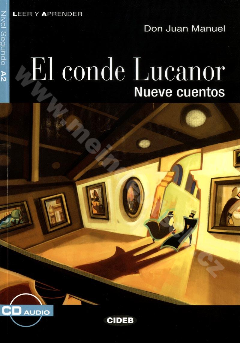 El conde Lucanor - zjednodušená četba A2 ve španělštině vč. CD