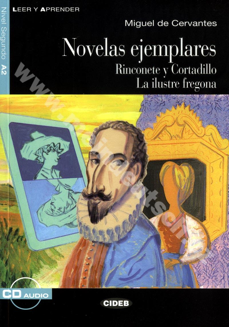 Novelas ejemplares - zjednodušená četba A2 ve španělštině vč. CD