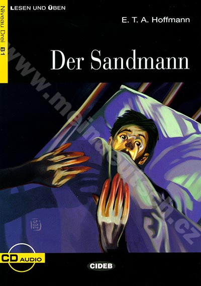 Der Sandmann - zjednodušená četba B1 v němčině (edice CIDEB) vč. CD
