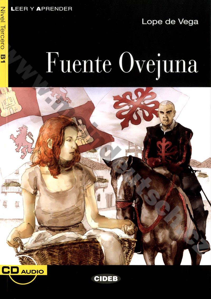 Fuente Ovejuna - zjednodušená četba B1 ve španělštině vč. CD