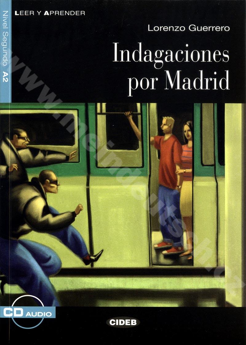 Indagaciones por Madrid - zjednodušená četba A2 ve španělštině vč. CD
