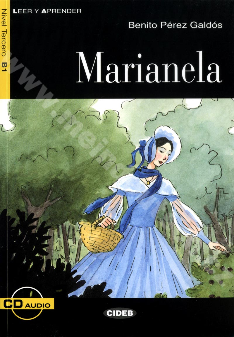 Marianela - zjednodušená četba B1 ve španělštině (edice CIDEB) vč. CD