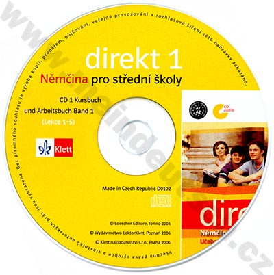 Direkt 1 - 2 CD k učebnici (1. díl)