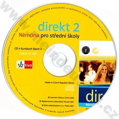 Direkt 2 - CD k učebnici (2. díl)