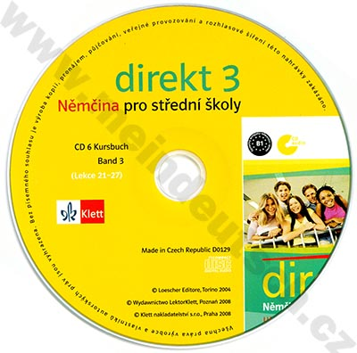 Direkt 3 - CD k učebnici (3. díl)