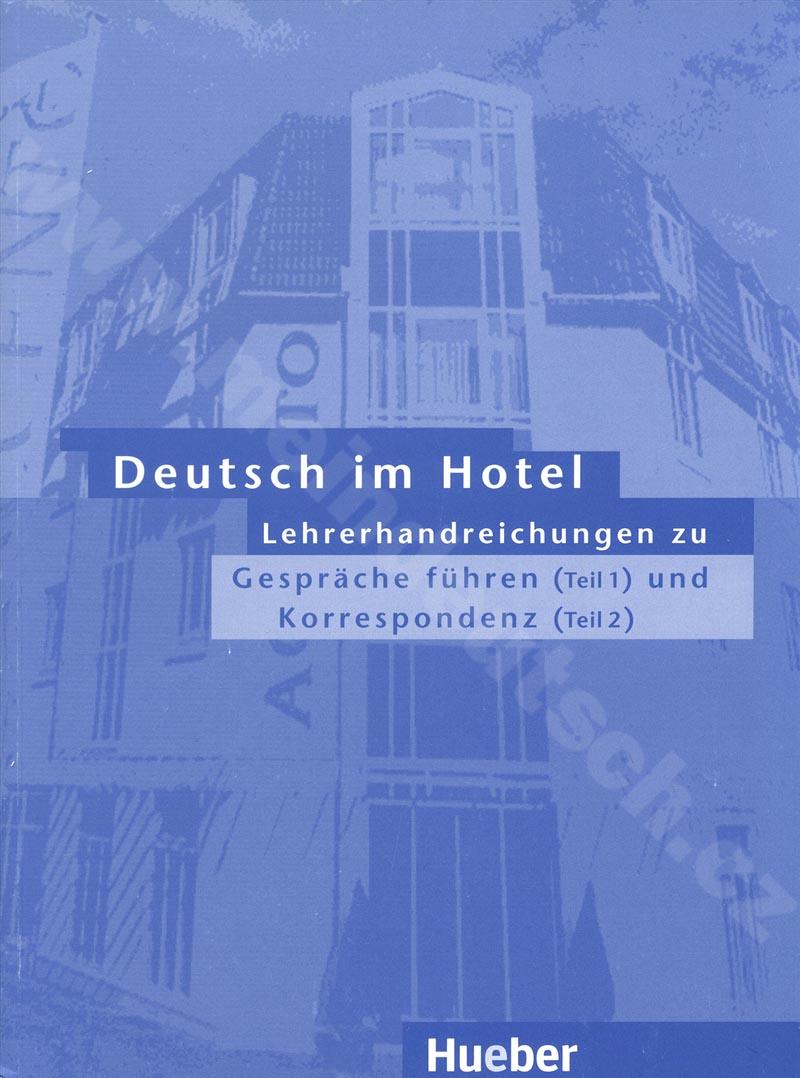 Deutsch im Hotel - metodická příručka obou částí