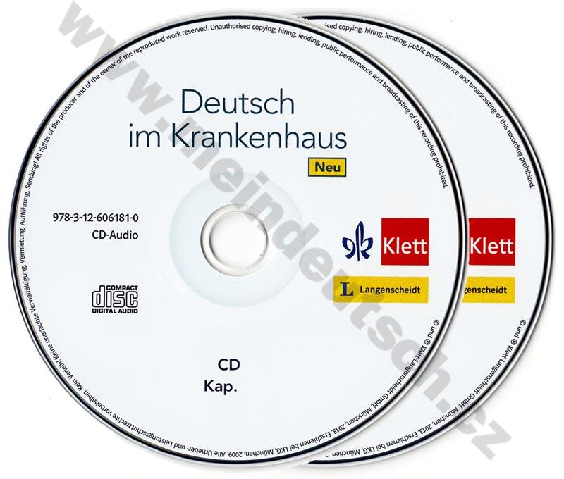 Deutsch im Krankenhaus Neu - audio-CD k učebnici