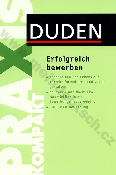 Fotografie Duden Kompakt - Erfolgreich bewerben - příručka žádání o místo