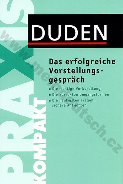 Fotografie Duden Kompakt - Das erfolgreiche Vorstellungsgespräch - příručka