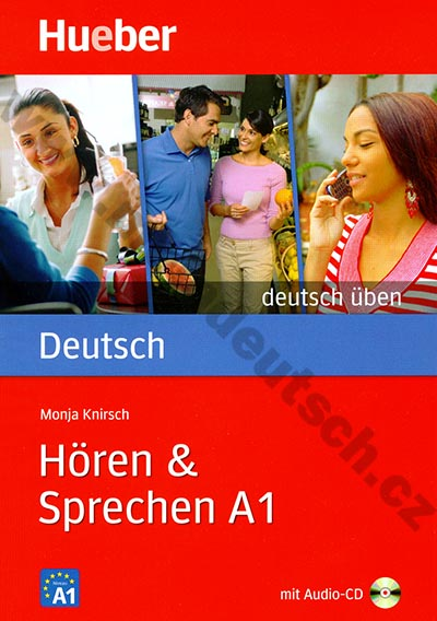 Hören + Sprechen A1, řada Deutsch üben - cvičebnice + audio-CD