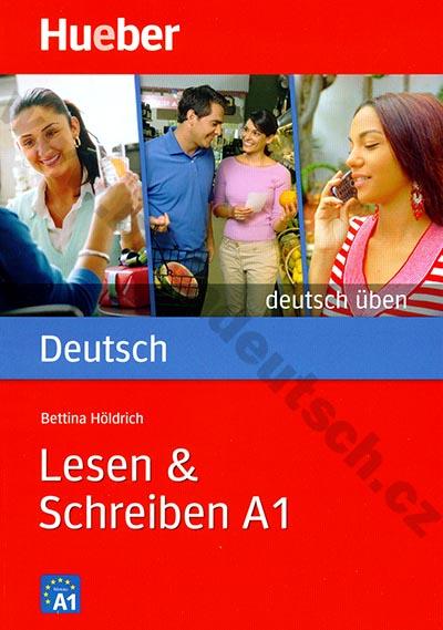 Lesen + Schreiben A1, řada Deutsch üben - cvičebnice němčiny