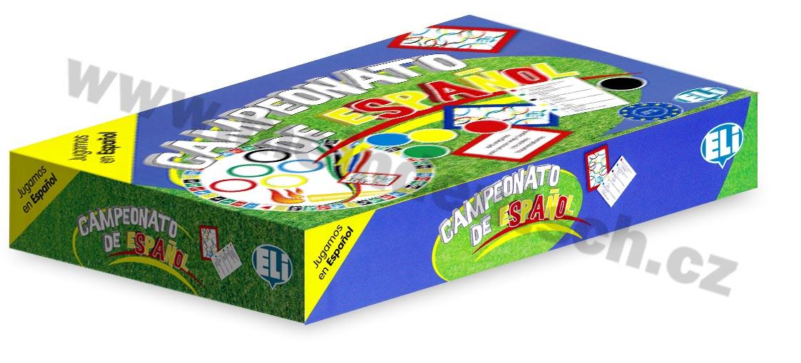 Campeonato de espanol - didaktická hra do výuky španělštiny