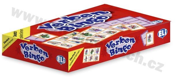 Verben-Bingo - didaktická hra do výuky němčiny