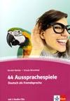 44 Aussprachespiele - výslovnostní didaktické hry do němčiny vč. 2 CD