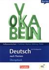 Deutsch als Fremdsprache - Aufbauwortschatz nach Themen-cvičebnice