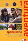 aventura 1 - učebnice a pracovní sešit španělštiny s 2 CD