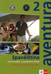 aventura 2 - učebnice a pracovní sešit španělštiny s 2 CD