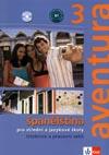 aventura 3 - učebnice a pracovní sešit španělštiny s 2 CD