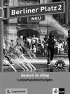 Berliner Platz 2 NEU - metodická příručka k 2. dílu