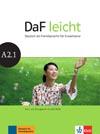 DaF leicht A2.1 - učebnice němčiny s DVD-ROM